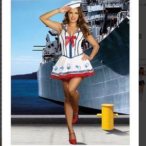Sailor Costume White Medium